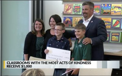 Five classrooms honored as 'Spark Kindness' award-winners