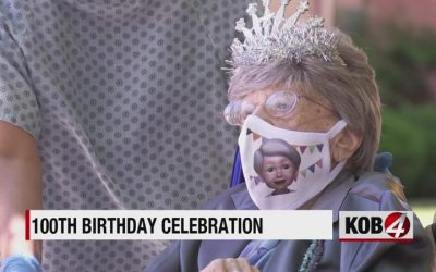 Community helps 100-year-old woman celebrate birthday with a parade
