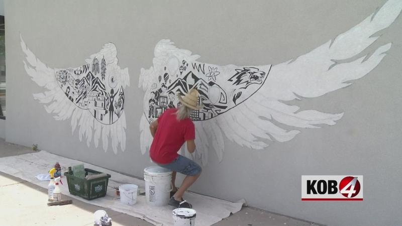 Mural aims to spread positivity in Albuquerque